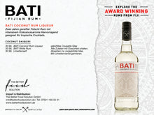 Laden Sie das Bild in den Galerie-Viewer, BATI Coconut Rum Liqueur