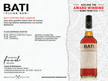 Laden Sie das Bild in den Galerie-Viewer, BATI Coffee Rum Liqueur