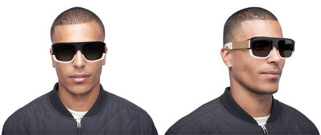 9FIVE Tips LX Marble Croc Shades