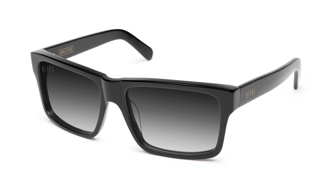 9FIVE Caps Matte Blackout - Gradient Sunglasses