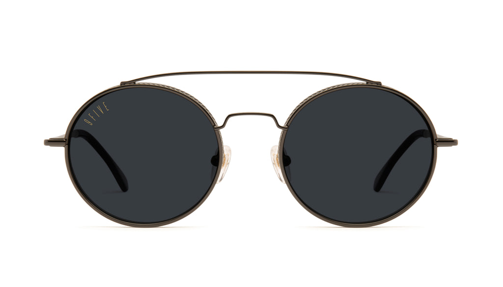 9FIVE 50-50 Gun Metal Sunglasses