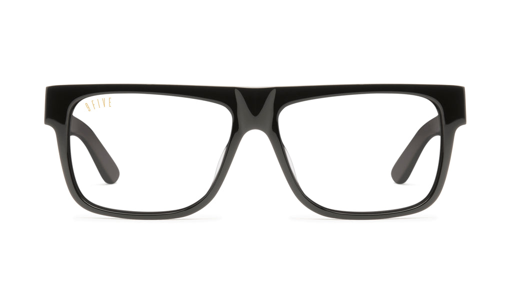 9FIVE 21 Black Clear Lens Glasses