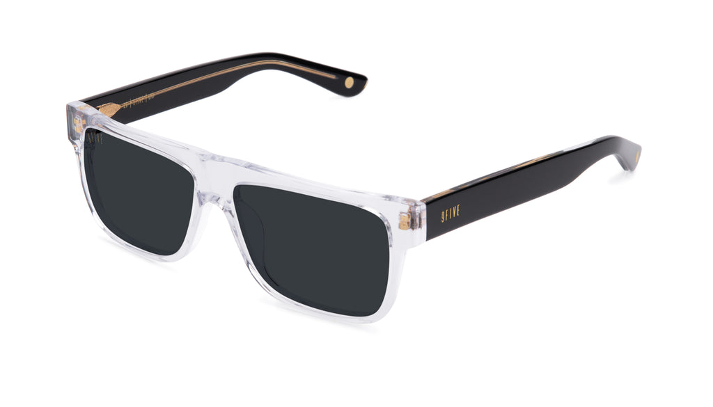 9FIVE 21 Locs Black Ice Sunglasses