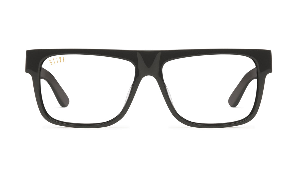 9FIVE 21 Matte Blackout Clear Lens Glasses