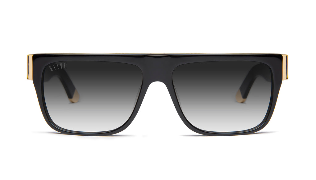9FIVE 22 Black & 24k Gold - Gradient Sunglasses