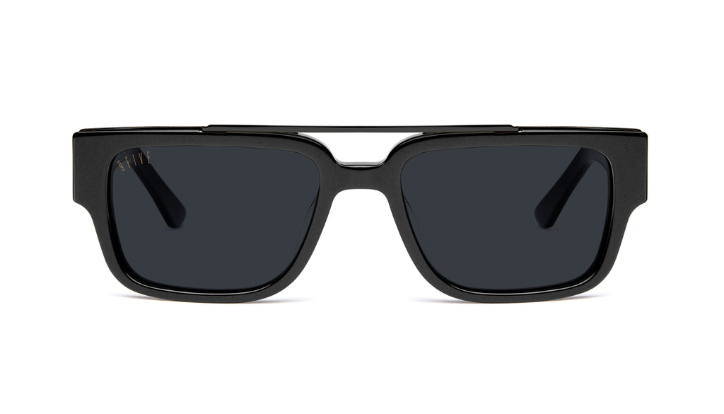 9FIVE 24 Matte Blackout Sunglasses Rx