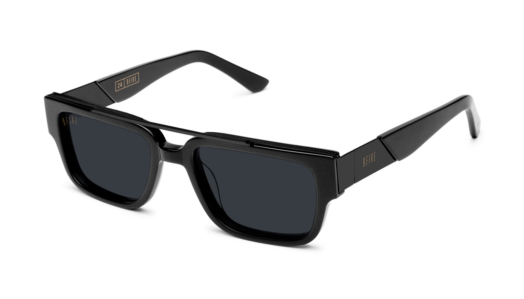 9FIVE 24 Matte Blackout Sunglasses