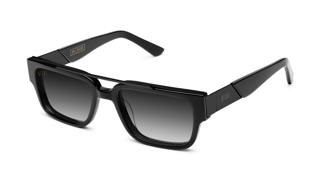 9FIVE 24 Matte Blackout - Gradient Sunglasses