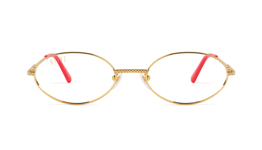 9FIVE 40 Red Eye - Clear Lens Glasses
