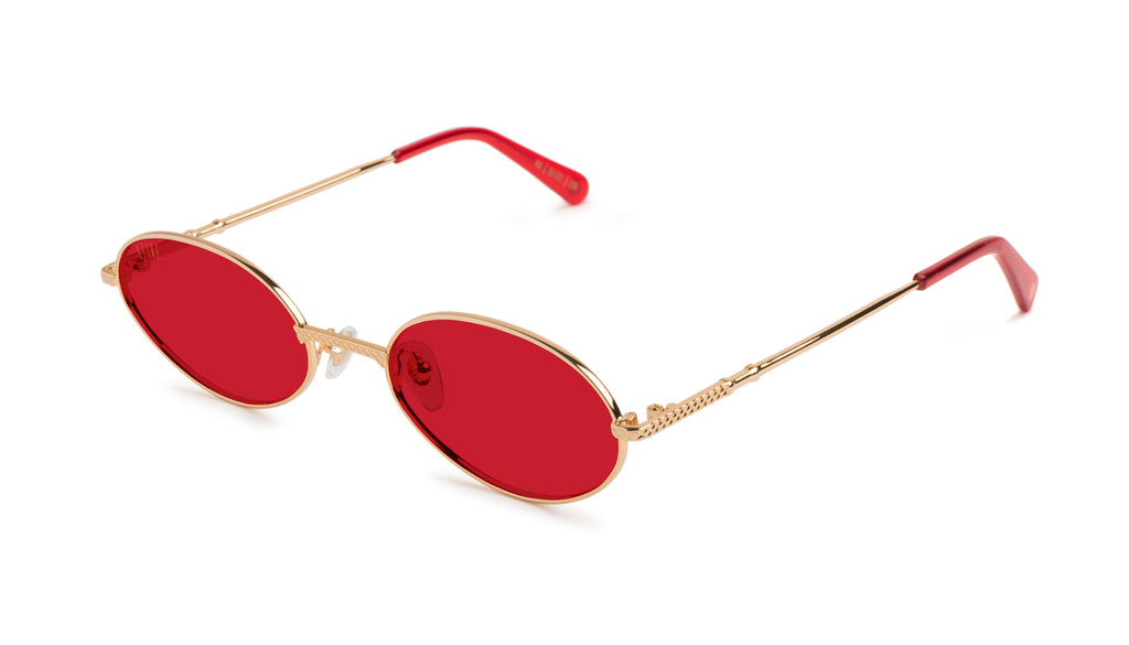 9FIVE 40 Red Eye - Red Sunglasses