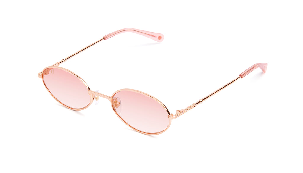 9FIVE 40 Rose Gold - Rose Gradient Sunglasses