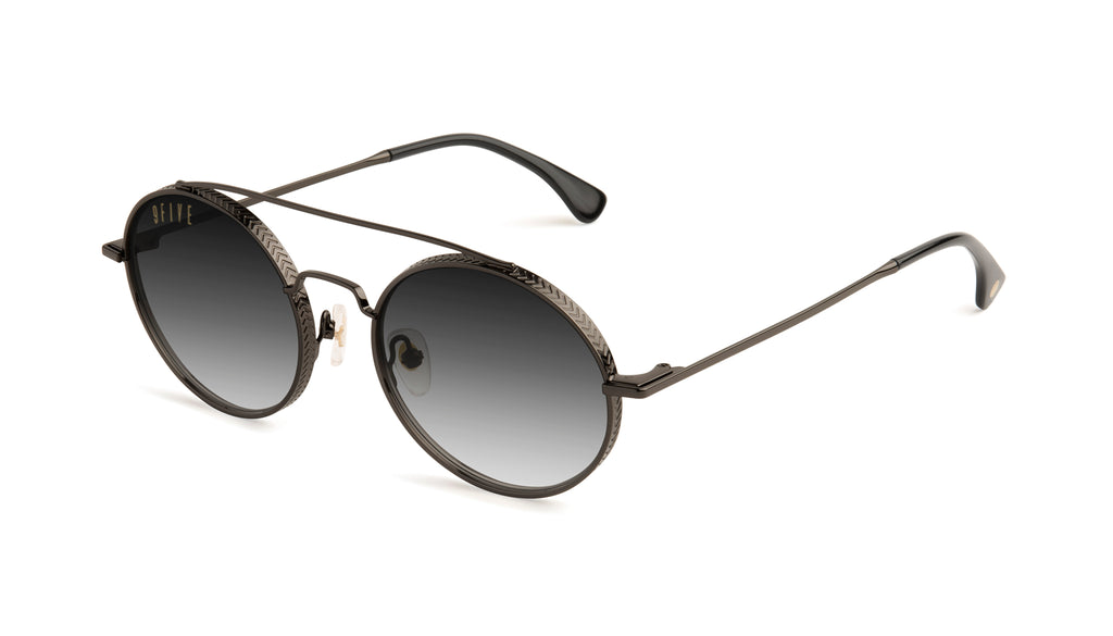9FIVE 50-50 Gun Metal - Gradient Sunglasses