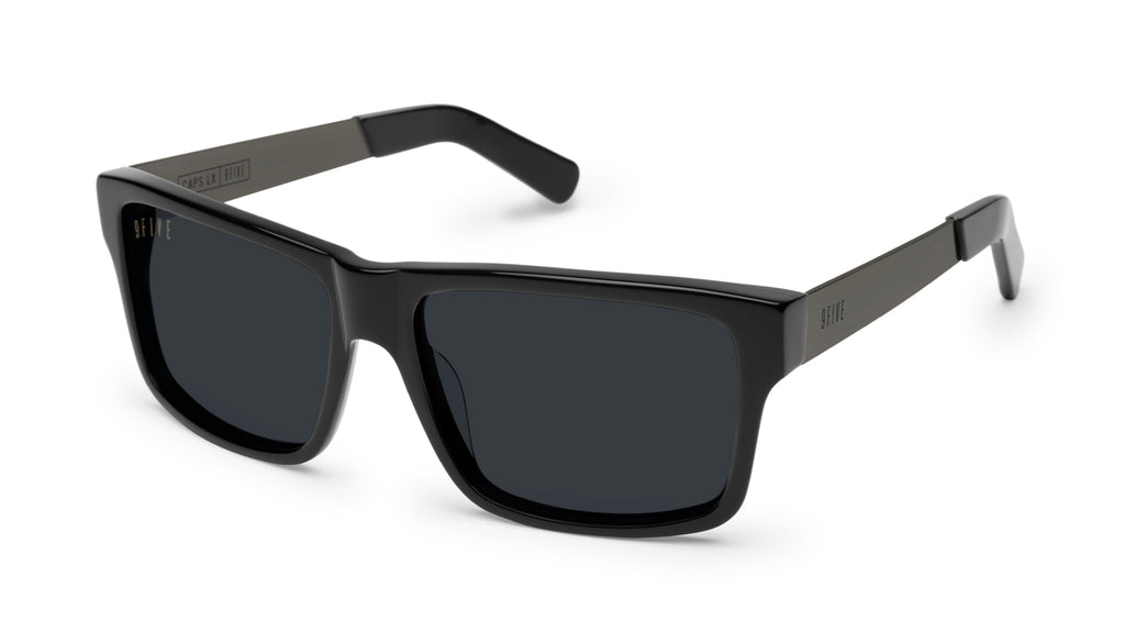 9FIVE Caps LX Gun Metal Sunglasses