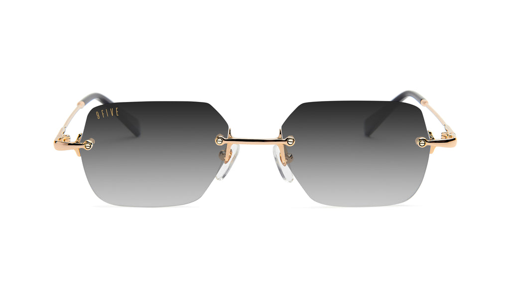 9FIVE Clarity 24k Gold - Gradient Sunglasses
