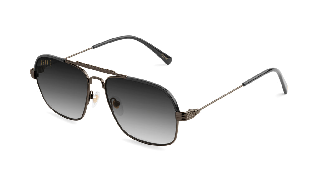 9FIVE AVIAN Gun Metal - Gradient Sunglasses