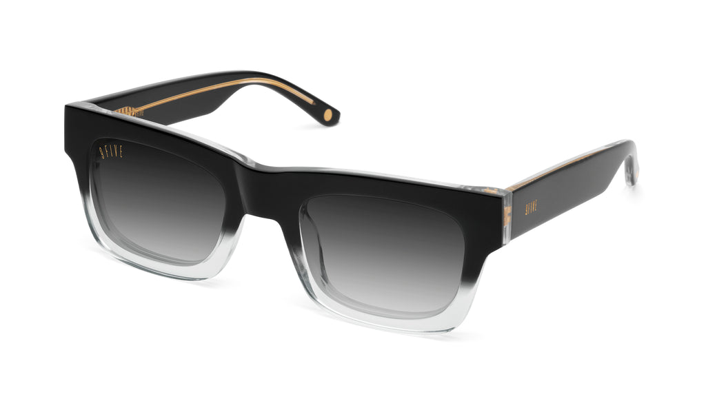 9FIVE Ayden Black Fade - Gradient Sunglasses