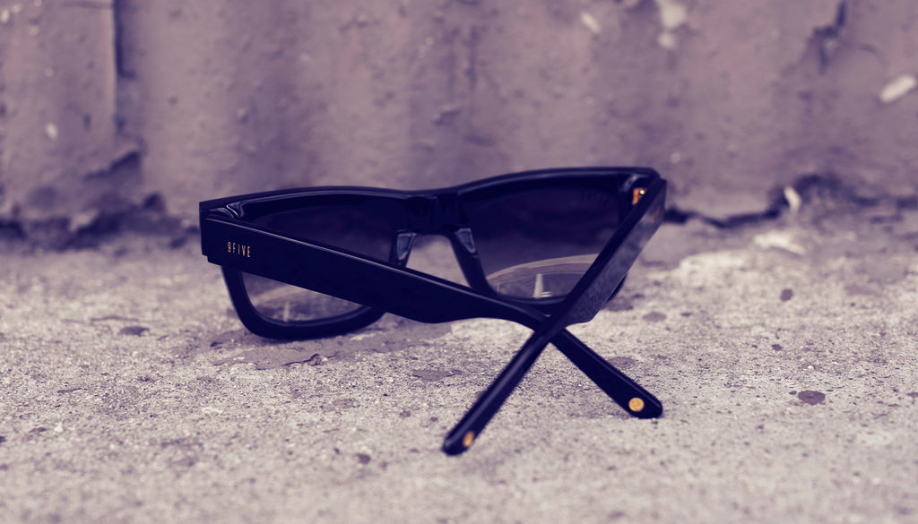 9FIVE Ayden Black Sunglasses