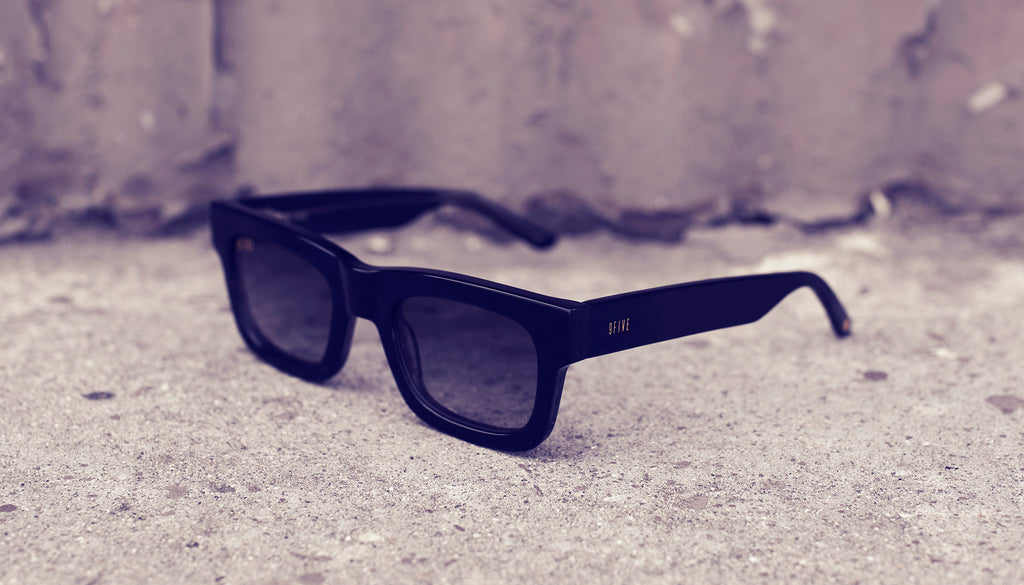 9FIVE Ayden Black - Gradient Sunglasses