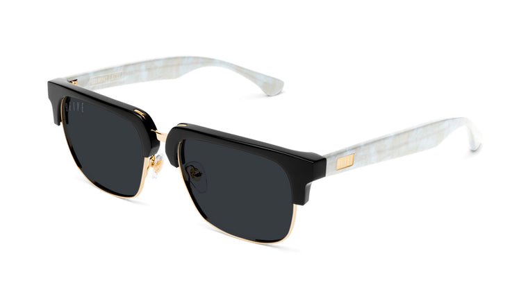 9FIVE Belmont Marble Croc & 24K Gold Sunglasses Rx