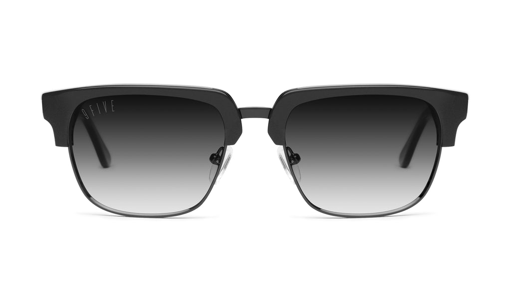 9FIVE Belmont Matte Blackout - Gradient Sunglasses