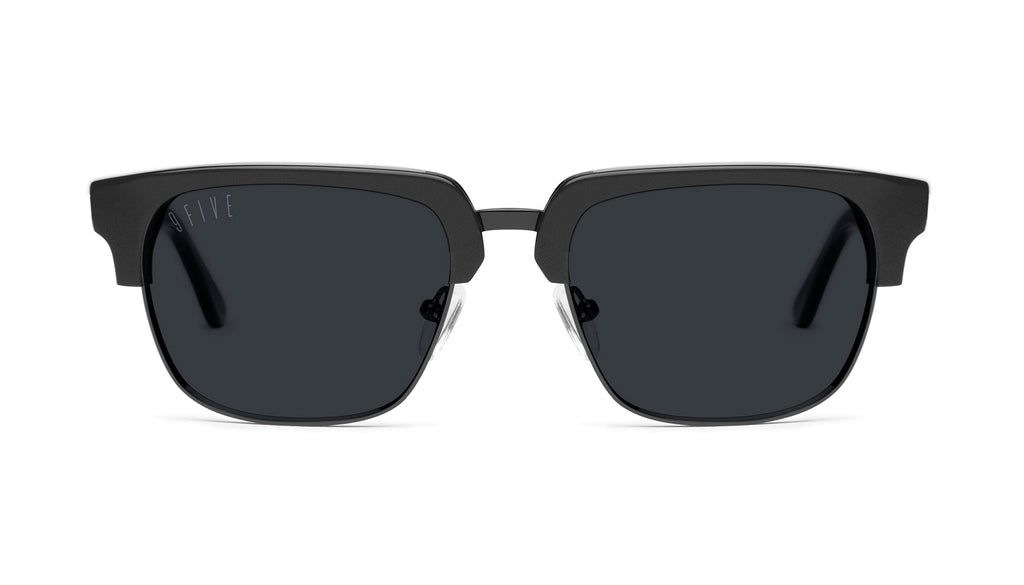 9FIVE Belmont Matte Blackout Sunglasses
