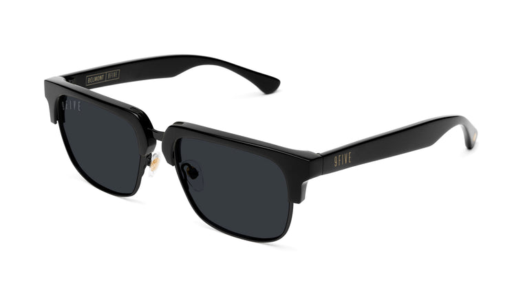 9FIVE Belmont Matte Blackout Sunglasses Rx