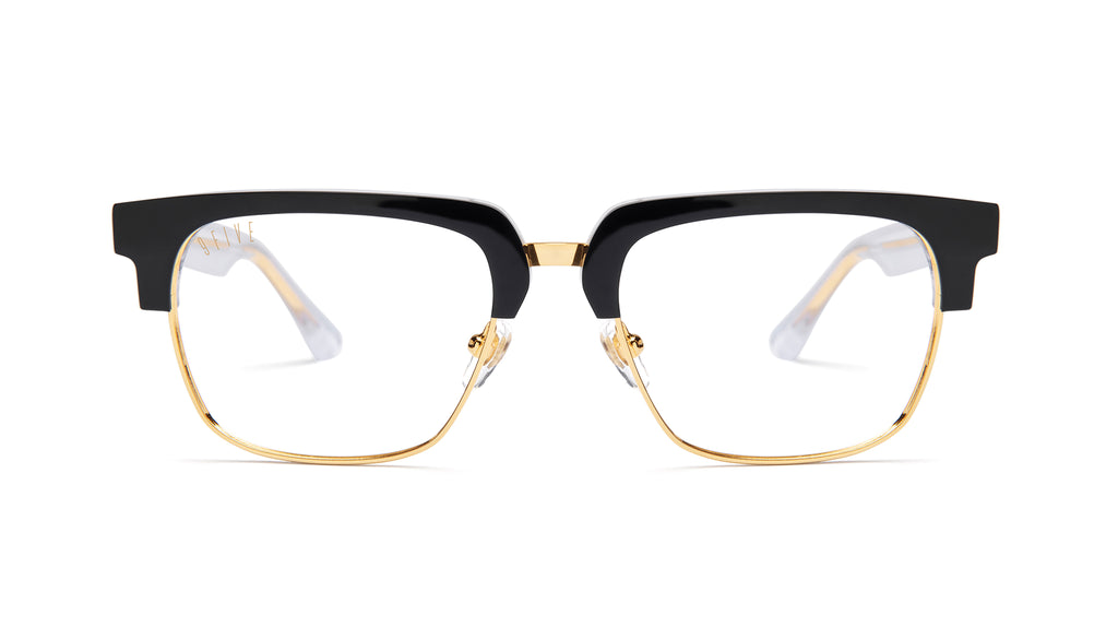 9FIVE Belmont Tuxedo Clear Lens Glasses