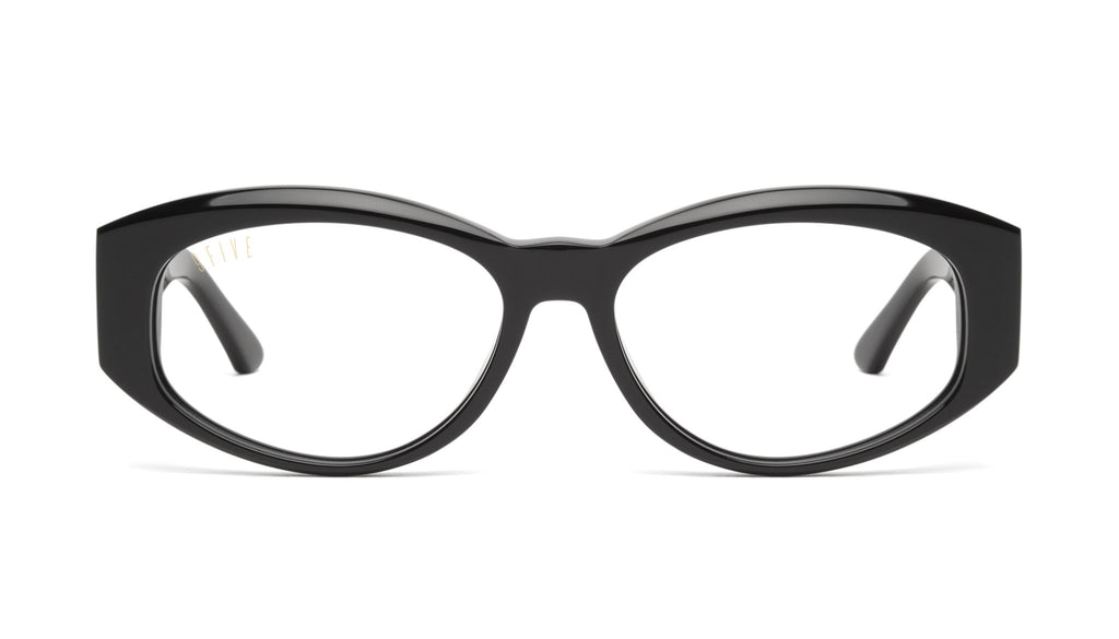 9FIVE Capital Black Clear Lens Glasses