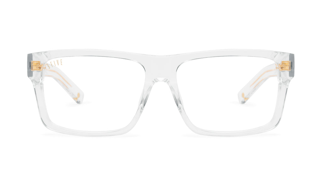 9FIVE Caps Crystal Clear Lens Glasses Rx