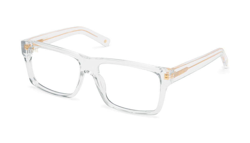 9FIVE Caps Crystal Clear Lens Glasses