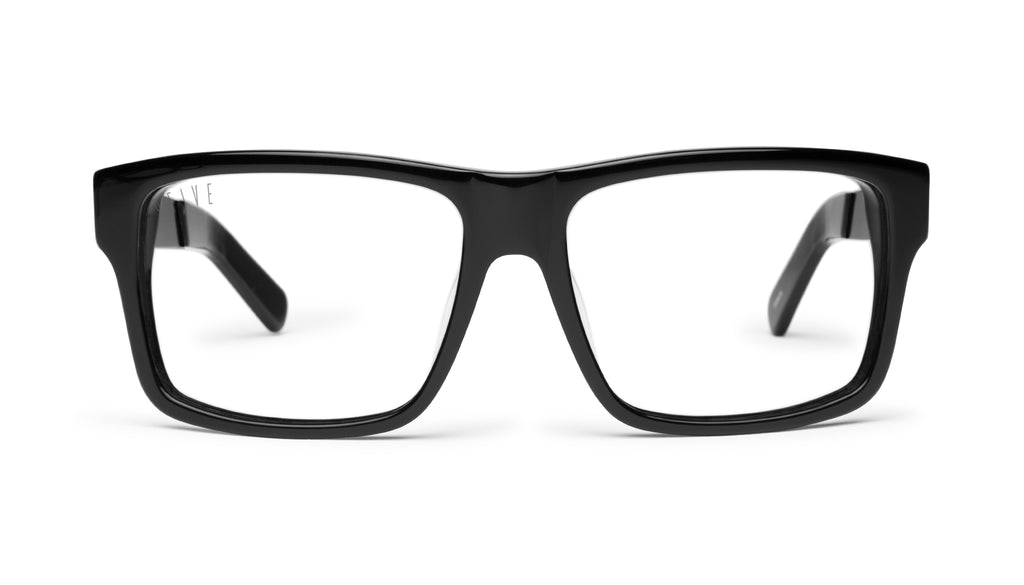 9FIVE Caps LX Black Clear Lens Glasses Rx