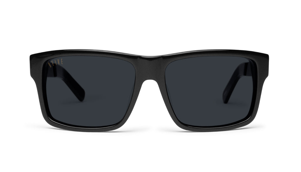 9FIVE Caps LX Matte Blackout Sunglasses