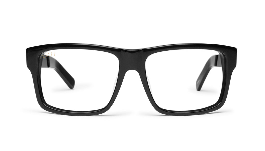 9FIVE Caps LX Matte Blackout Clear Lens Glasses
