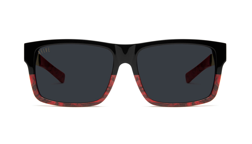 9FIVE Caps LX Red Marble & 24k Gold Sunglasses Rx