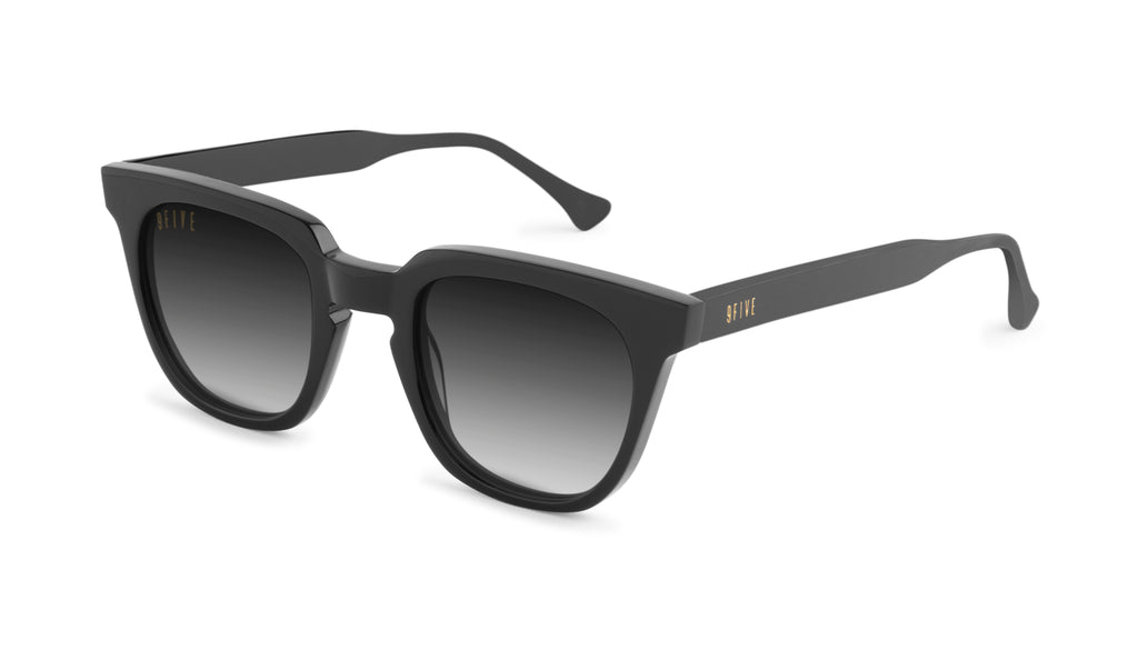 9FIVE Dean Black - Gradient Sunglasses