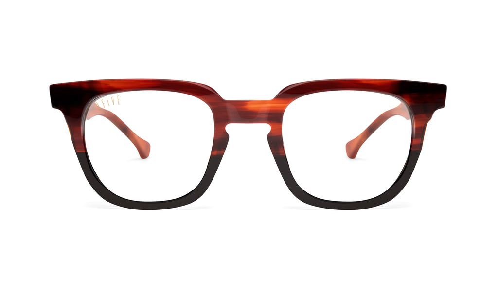 9FIVE Dean Havana Clear Lens Glasses Rx