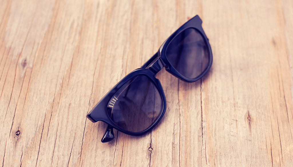9FIVE Dean Black Sunglasses