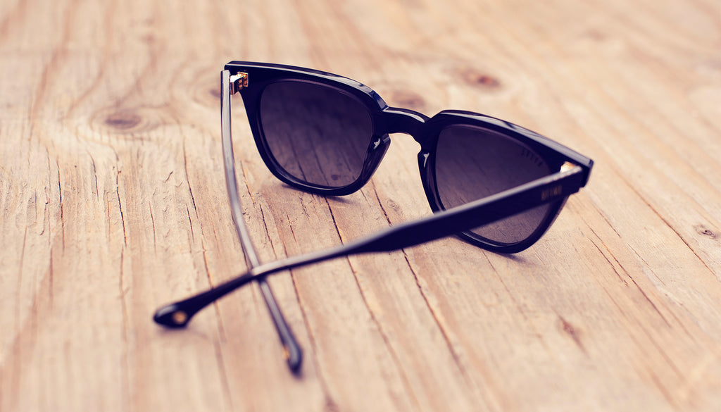 9FIVE Dean Black Sunglasses Rx