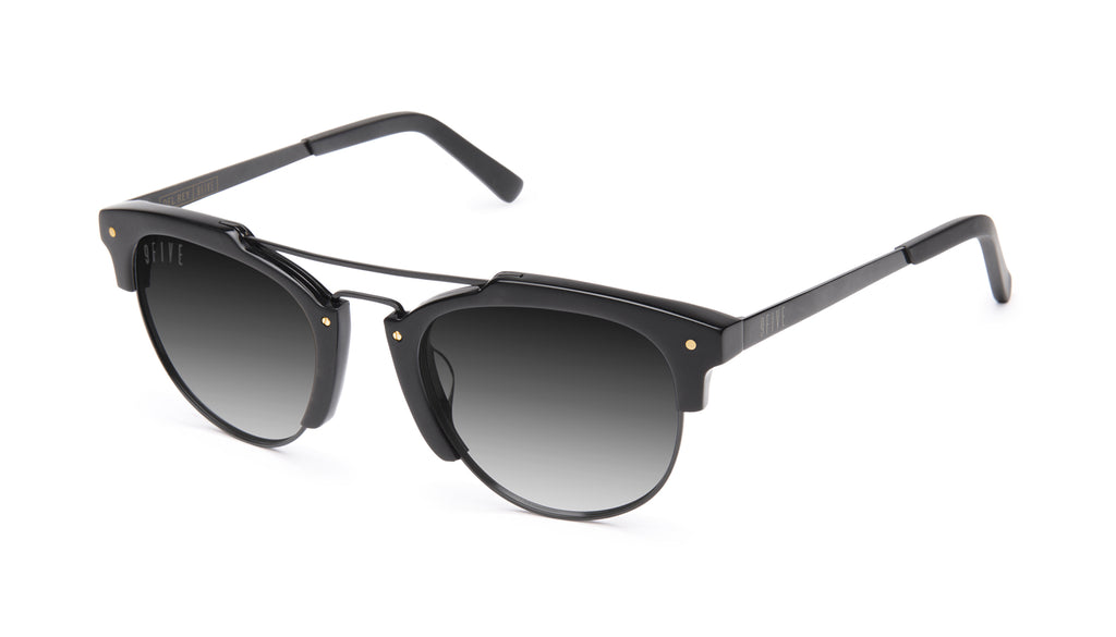 9FIVE Del Rey Matte Blackout - Gradient Sunglasses