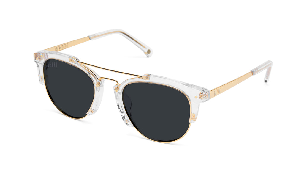 9FIVE Del Rey Crystal & 24K Gold Sunglasses Rx