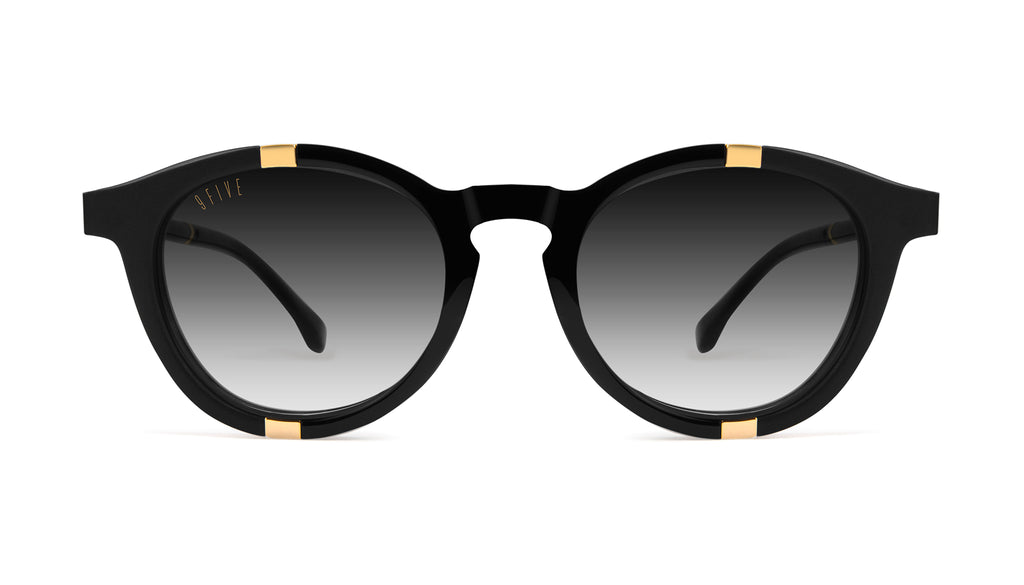 9FIVE Groove Black & 24k Gold - Gradient Sunglasses