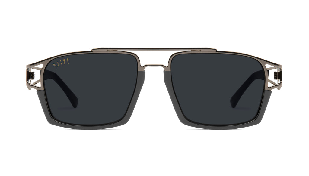 9FIVE Kingpin Gun Metal Sunglasses