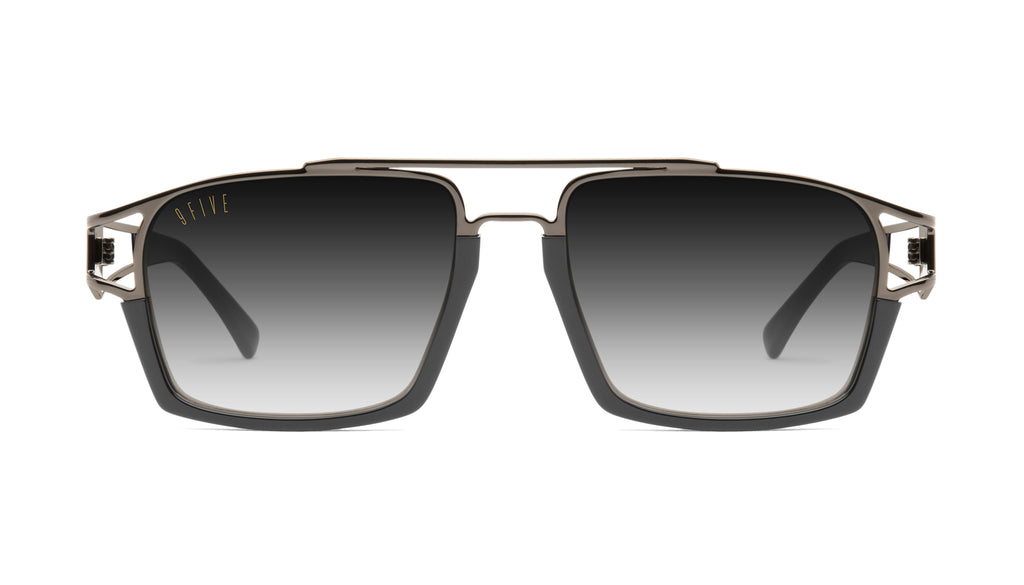 9FIVE Kingpin Gun Metal - Gradient Sunglasses