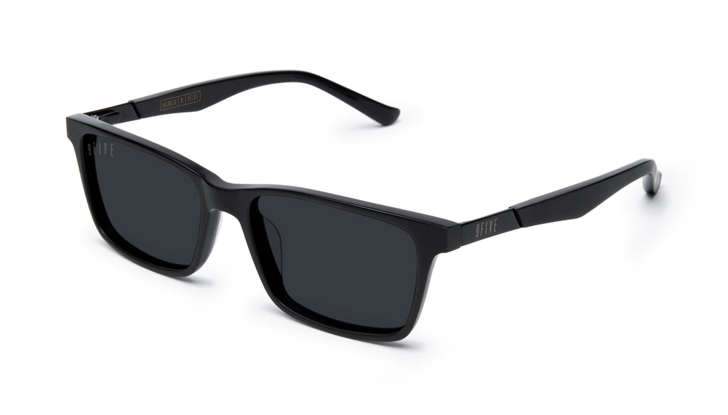 9FIVE La Jolla Matte Blackout Sunglasses