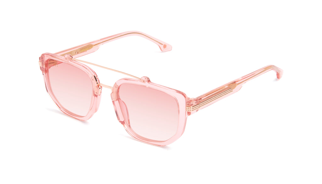9FIVE Lawrence Rose Gold - Rose Gradient Sunglasses