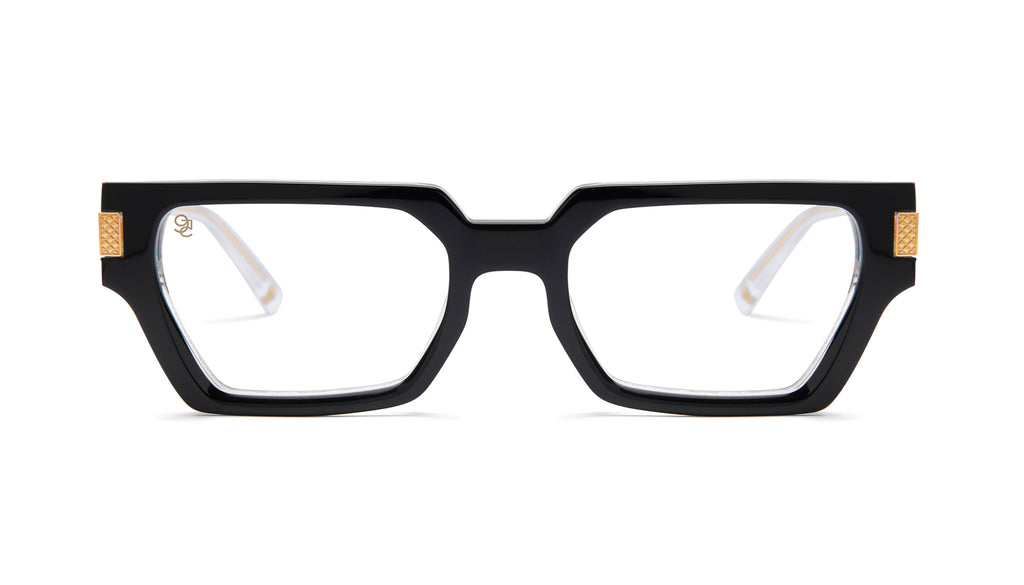 9FIVE Locks Tuxedo Clear Lens Glasses
