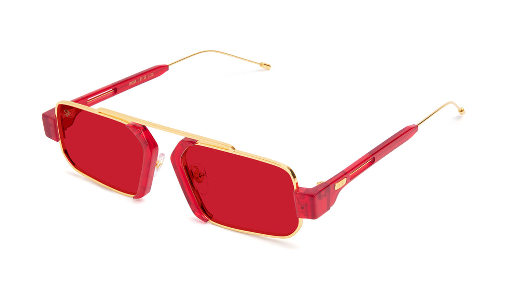 9FIVE Logan Red Eye - Red Sunglasses