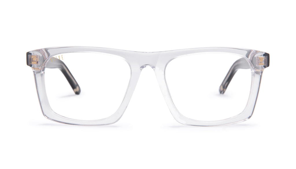 9FIVE One (Watson) Black Ice Clear Lens Glasses