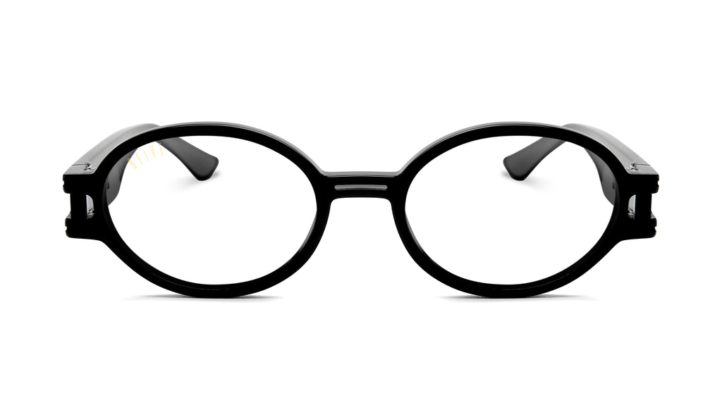 9FIVE St. James SE Black Clear Lens Glasses
