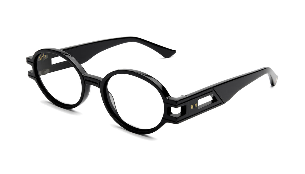 9FIVE St. James SE Black Clear Lens Glasses Rx